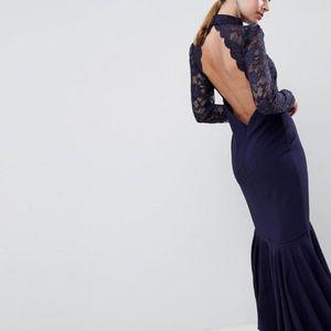 NWT   City Goddess Fishtail Dress   US 8P
